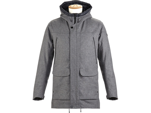 Alchemy Equipment Insulated Tech Wool Coat Herre Grey